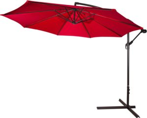 10 ft. cantilevered umbrella for your tailgate party