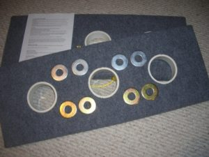 3 Hole Washer Toss Boards Game