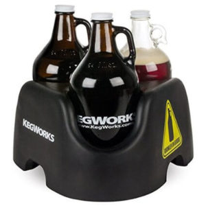 A Growler Carrier is a great beer-themed gift