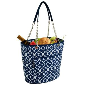 Ascot style picnic carrier - for the gentlewomen at your tailgate party