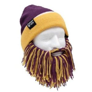Barbarian Beard and Beanie for Tailgate Party