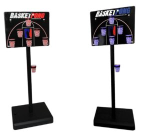 BasketPong for tailgate party fun