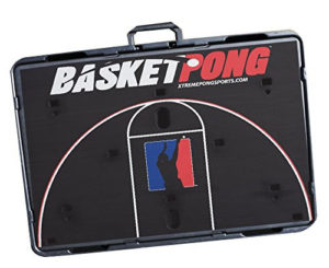 BasketPong packs compactly for tailgate party fun