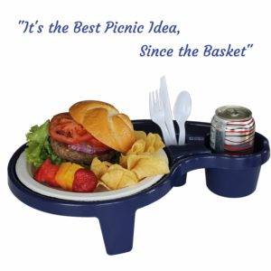 Beer & Booze Accessories - Party Pal almost hands free drink and food holder