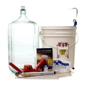 Beer Homebrew Kit with Glass Carboy a great beer-themed gift