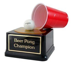 Beer Pong Champion award