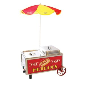 Benchmark Mini Cart Hot dog cooker