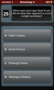 Best Sports Trivia - football