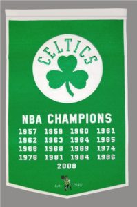 Boston Celtics Banner NBA