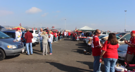 Farewell Candlestick Park's Parking Lot and the Smell of BBQ!