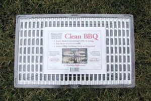 Clean BBQ Disposable grill covers for your best tailgate party