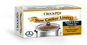 Crock-Pot liners for slow cookers