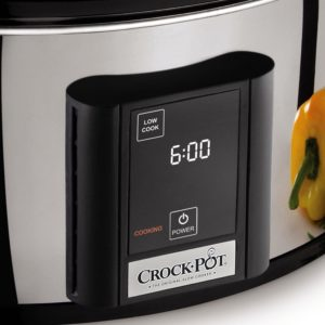Crock-pot touchscreen slow cooker