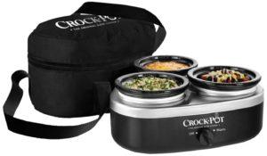 Crockpot Little Triple Dipper Slow Cooker