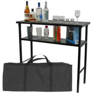 Best Portable Bars - Deluxe Metal