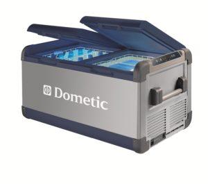 Dometic portable electric refigrerator/freezer cooler.