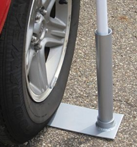 Flag Pole stand - tailgate supplies