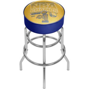 Gameroom NBA Champs Chrome Bar Stool
