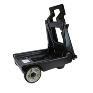 Generator cart for easy tailgate party handling