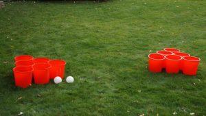Giant Yard Pong for Homegating