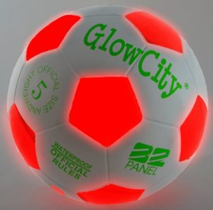 Glow City Lightup soccer ball