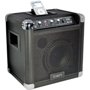 Ion Tailgater AM_FM Portable Speaker with iPod dock