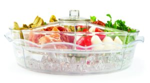 Jumbl appetizer lidded serving tray