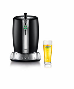 Krups and Heineken Beer Tender kegerator is a great beer-themed gift