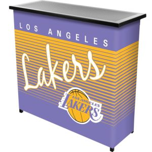 Lakers color wrap for portable bar