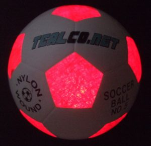 Light up soccer ball for your tailgate party games