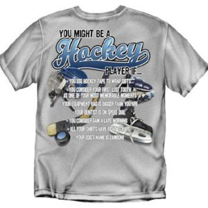 List Hockey T-Shirt for tailgate party