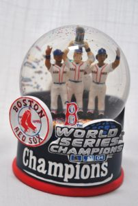 MLB gift - Red Sox World Series Champs Snow Globe Limited Edition