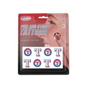 MLB team temporary tattoos - great MLB gift