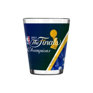 NBA 2015 Basketball Champs shot glass