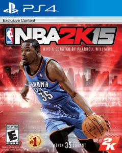 NBA 2K15 music by Pharrell Williams