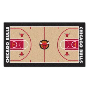NBA Chicago Bulls mat for floor or table