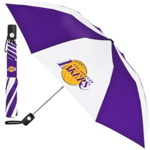 NBA Lakers folding umbrella