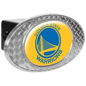 NBA Metal Diamond Plate Trailer Hitch Cover