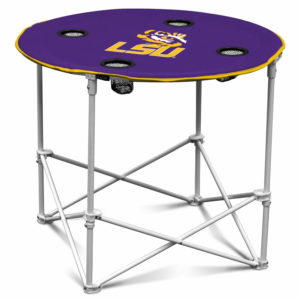 NCAA Accessories Round Tailgating Table