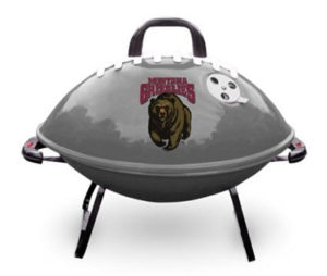 NCAA Accessories - Montana Grizzlies Portable Football BBQ