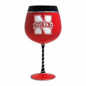 NCAA Accessories - Nebraska Cornhuskers wine goblet