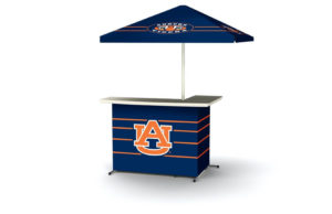 NCAA Accessories - portable wheeled bar