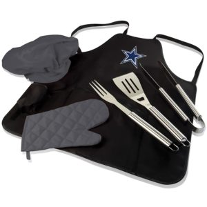 NFL Apron, hat, mitts and utensils
