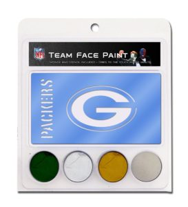 NFL Green Bay Packers Face Paint