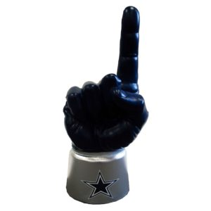 NFL team themed pointing finger