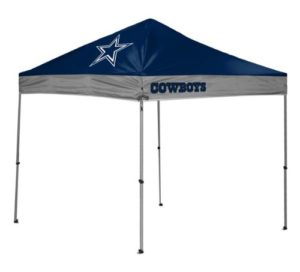 NFL themed canopy - Essential Tailgate Party Gear