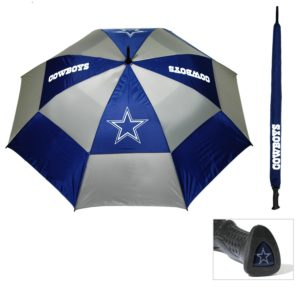 NFL themed double canopy umbrella