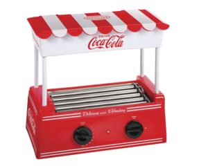 Nostalgia Electrics Coca Cola Hot Dog Cooker