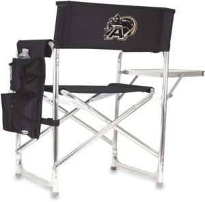 NCAA Accessories - Wide chair with side table and holders