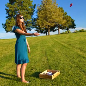 Washer Toss is a great tailgate party game